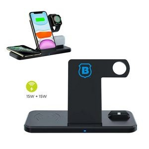 4-in-1 Multifunctional Wireless Charging Station